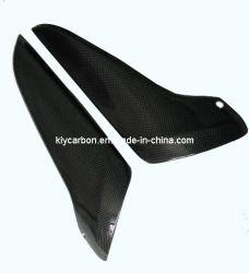 La fibre de carbone pour la garde du silencieux de moto Yamaha R1 07 08