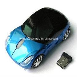 Souris sans fil de forme de voiture