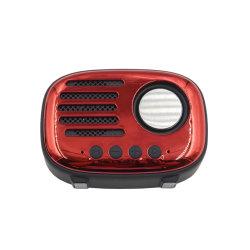 昇進のギフトのためのFMの標準的な無線電信A4多機能のレトロの無線のBluetoothのスピーカー