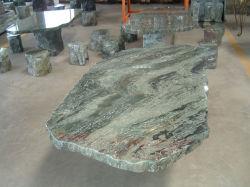Pierre vert jardin de Marbre Granit Bench & Table