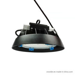 130lm/W Meanwell Pilote IP65 étanche extérieur éclairage industriel Zoomable 100W/150W/200W UFO 200W LED High Bay lumière pour l'Entrepôt/atelier