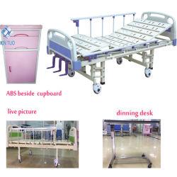 Commerce de gros de matériel médical 3 manuel hydraulique Lit d'hôpital de manivelle