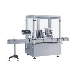 Produtos farmacêuticos de alta velocidade automática/ Frasco de Toner Facial da linha de produção líquida de nivelamento de enchimento e máquina de Vedação