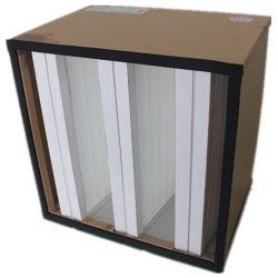 クリーンルームの木製フレーム V セルエアフィルタ