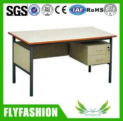 L'école enseignant Table en bois et métal Le personnel du Bureau exécutif du mobilier de bureau de poste de travail (SF-09T)