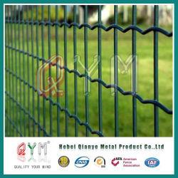 Acier recouvert de PVC vert Holland Wire Mesh/ Clôture Euro soudé