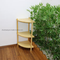 Escada de bambu e Flor de armazenamento Pot Fábrica de suporte de monitor de prateleira para Rack House