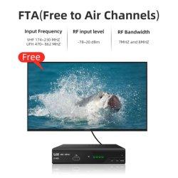 Polen DVB T2 H. 265 de Tuner van TV van de Ontvanger van TV