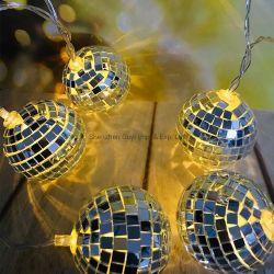 Het LEIDENE van de Bal van de Disco van de Decoratie van Kerstmis Licht van het Koord
