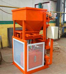 Rh1-10 Best-Selling Machine automatique de bloc de béton, machine à briques de verrouillage du sol, méthode de pression hydraulique machine à fabriquer des briques en argile