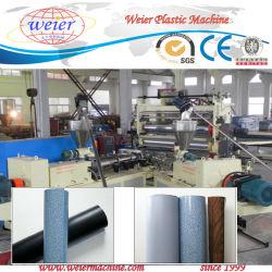 Duas camadas a linha de produção de revestimentos de PVC com laminação