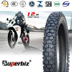 18 pouces nouveau OEM 6pr de la courroie de nylon des pneus diagonaux de cross country de caoutchouc naturel Pattern de basse pression des pneus de moto (300-17 / 300-18) avec CCC