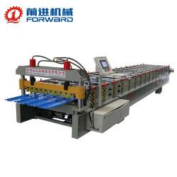 الصين للأمام ورقة سقف قبيدة زحفية آلة تشكيل اللف