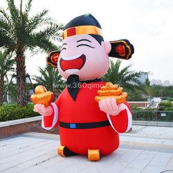 카200은 부수 불변의 신을 광고하기 위한 맞춤화 탄도/동물이다 카툰 모델 판매 PVC 야외 장식