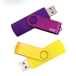 USBのフラッシュ駆動機構のSmartphone USBのフラッシュ駆動機構OTG Pendrive 4GB 8GB 16GB 32GB USB 2.0のメモリ棒のマイクロスマートな移動式ディスク