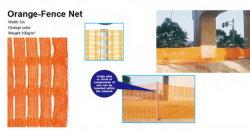 Пластиковые сетки Net фантазии чистой ткани оранжевого цвета сети безопасности