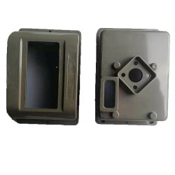 Пластмассовые детали OEM литые ЭБУ системы впрыска пластика продукт для электрического амперметра в салоне
