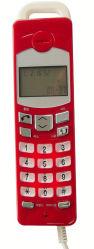 Telefone Trimline Wall-Mounted pequeno telefone ID do chamador