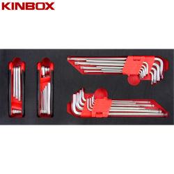 Kinbox профессионального ручного набора инструментов пункт TF01M140 с шестигранной головкой и&Star набор ключей
