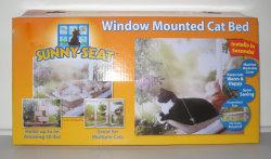 Окно установлен Cat кровать, солнцем окно сиденья (JG0053)