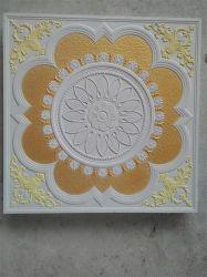 Techo de yeso colorido mosaico, azulejo techo Grg