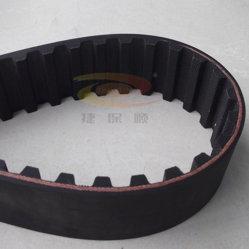 Interminables de caucho negro Correa de distribución para la transmisión de potencia