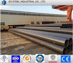 Haute Qualité la norme ASTM A53 gr. B Tuyau en acier au carbone légère, de restes explosifs des guerres de tube en acier rond noir Tuyau laminés à chaud, Pétrole et gaz Pipeline