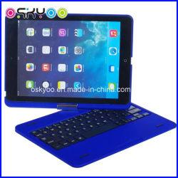 Pas het Draadloze Toetsenbord Bluetooth van het Embleem voor de Houder van de Lucht van iPad aan