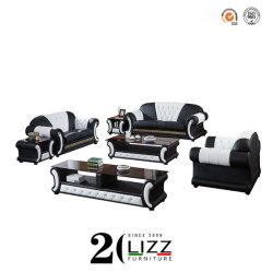 Accueil Mobilier Modulaire canapé en cuir défini pour la salle de séjour