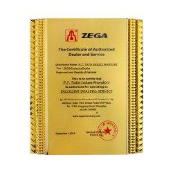 Adjudicação de fornecimentos Plate-Shaped direto de fábrica pequeno troféu de Metal