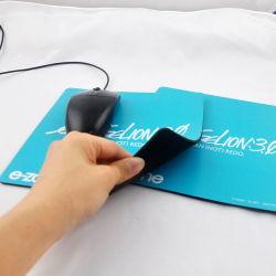 Equipo de oficina regalo de promoción de silicio de impresión personalizada alfombrilla de ratón ergonómica