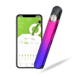 Anyvape 중국 전자 담배 처분할 수 있는 Vape E 담배 분첩 바 Bluetooth Vape 펜