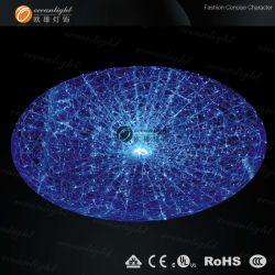 La moderna iluminación colgante lámpara de araña de fibra óptica Om097