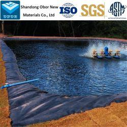 Film de plastique renforcé Anti-Seepage 0.5/1/2mm PEHD /PEBD/PEBD linéaire doublure de la Géomembrane Pond Liner pour piscine Lac Rivière de l'Aquaculture Élevage de poissons d'enfouissement du barrage de la chemise