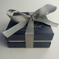 Embalagem de alta qualidade personalizada na caixa de papel com fecho de fita para a promoção