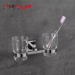 Zahnbürste Doppel-Cup-Halter für Bad-Accessoires Tumber und Halter