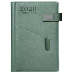 Programa para el año 2020 del calendario de este plan esta tarjeta de tiempo 365 un día una página en obras de arte portátil Cuadernos Cuadernos Planificador semanal
