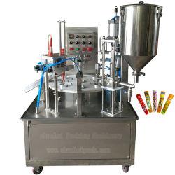 Meilleur prix automatique rotatif Type remplissage scellant machine d'emballage pour Scelleuse Calippo haute efficacité