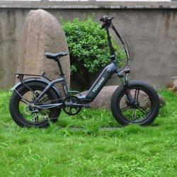 دراجة المدينة دقيقة 20 بوصة طي دراجة كهربائية الترابية أنثى Kick Step أنيقة بطارية ليثيوم أيون مصغرة
