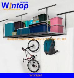 調整可能なライトデューティ天井ラック天井取り付け式ラック吊り下げ式ラック ガレージストレージシステム用収納棚