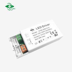 IP20 prezzo di fabbrica costante del driver 12V 24V 6W di tensione LED con Ce ETL SAA