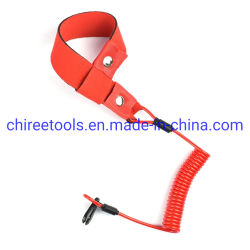 YAMAHA Jetski Notschalter Spiralband Außenborder Motorstopp Sicherheit Trageschlaufe mit rotem Handgelenkband