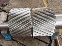 Arbre à engrenage double hélicoïdal Dp 1.5 25t SAE 4340