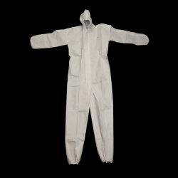 China Proveedor Stock Traje de PPE bata desechable Nonwoven sobretodo Ropa de trabajo en general Ropa Non-Woven aislamiento ropa para hombres y mujeres