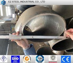 ASTM A234 알로이 버트 용접/심리스 파이프 피팅 45/90 각도 엘보