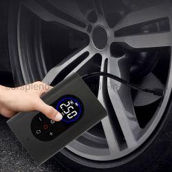 LED 조명이 있는 자동차 타이어 인플레이터, 스마트 팽창식 펌프