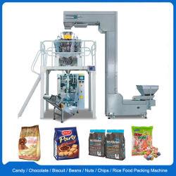 Erdnuss/Kaffeebohnen/Reis/Tee/Süßigkeit/Kartoffelchips/Imbisse/Nahrungautomatische Vffs vertikale Verpackungs-Verpackmaschine