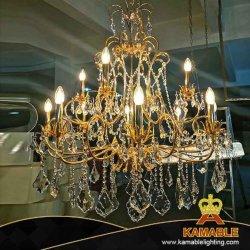 Lampadario a bracci a cristallo d'acciaio della decorazione di progetto domestico di lusso moderno dell'hotel (BRC01)