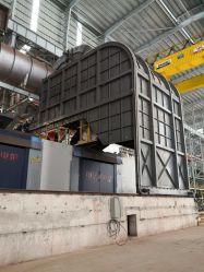 -7020t t Coreless four à induction électrique de fréquence intermédiaire pour l'acier/un fer et acier inoxydable/alliage de cuivre/aluminium /le moulage de fusion