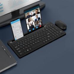 قطع غيار الكمبيوتر لوحة مفاتيح Bluetooth لاسلكية قابلة لإعادة الشحن في المصنع لجهاز iPad Mobile Phone Tablet PC